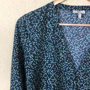 Joie floral popover flowy top S